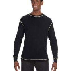 Men's Vintage Long-Sleeve Thermal T-Shirt Thumbnail