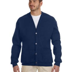 Adult 8 oz. NuBlend® Cardigan Thumbnail