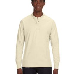Men's Vintage Brushed Jersey Henley Thumbnail