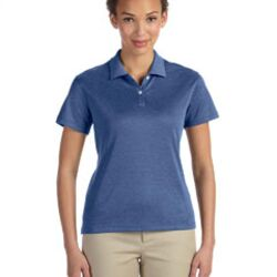 Ladies' Pima-Tech™ Jet Piqué Heather Polo Thumbnail