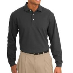 Tall Rapid Dry™ Long Sleeve Polo Thumbnail