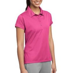Ladies Contrast Stitch Micropique Sport Wick® Polo Thumbnail