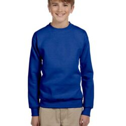 Youth 7.8 oz. ComfortBlend® EcoSmart® 50/50 Fleece Crew Thumbnail