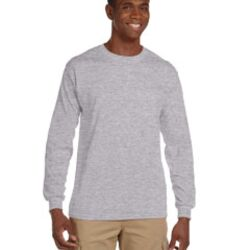 Adult Ultra Cotton® 6 oz. Long-Sleeve Pocket T-Shirt Thumbnail