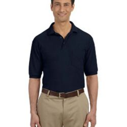 Men's 5.6 oz. Easy Blend™ Polo with Pocket Thumbnail