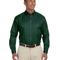 Men's Easy Blend™ Long-Sleeve Twill Shirt with Stain-Release Thumbnail