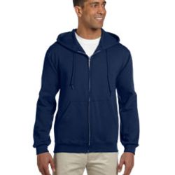 Adult 9.5 oz., Super Sweats® NuBlend® Fleece Full-Zip Hood Thumbnail
