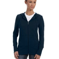 Ladies' Stretch French Terry Lounge Jacket Thumbnail