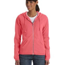 Ladies' Full-Zip Hooded Sweatshirt Thumbnail