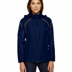 Ladies' Sirius Lightweight Jacket with Embossed Print Thumbnail