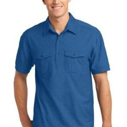Oxford Pique Double Pocket Polo Thumbnail