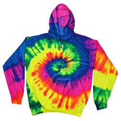 Youth 8.5 oz. Tie-Dyed Pullover Hooded Sweatshirt Thumbnail