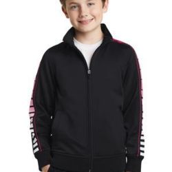 Youth Dot Sublimation Tricot Track Jacket Thumbnail