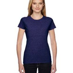 Ladies' 4.7 oz. Sofspun® Jersey Junior Crew T-Shirt Thumbnail