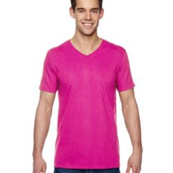 Adult 4.7 oz. Sofspun® Jersey V-Neck T-Shirt Thumbnail