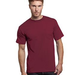 Adult Short-Sleeve T-Shirt with Pocket Thumbnail