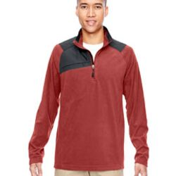 Adult Excursion Trail Fabric-Block Fleece Quarter-Zip Thumbnail
