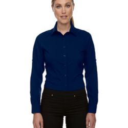 Ladies' Rejuvenate Performance Shirt with Roll-Up Sleeves Thumbnail