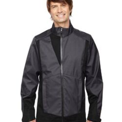 Men's Commute Three-Layer Light Bonded Two-Tone Soft Shell Jacket with Heat Reflect Technology Thumbnail