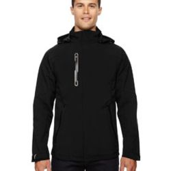 Men's Axis Soft Shell Jacket with Print Graphic Accents Thumbnail