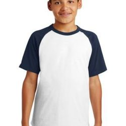 Youth Short Sleeve Colorblock Raglan Jersey Thumbnail