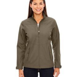 Ladies' Forecast Three-Layer Light Bonded Travel Soft Shell Jacket Thumbnail