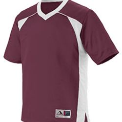Youth Polyester Mesh V-Neck Short-Sleeve Jersey Thumbnail