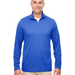 Men's Cool & Dry Heathered Performance Quarter-Zip Thumbnail