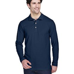 Adult Long-Sleeve Classic Piqué Polo Thumbnail