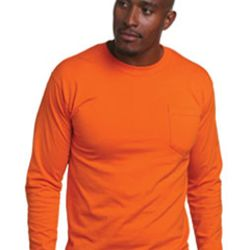 Adult Long-Sleeve T-Shirt with Pocket Thumbnail
