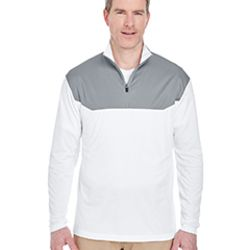 Adult Cool & Dry Sport Colorblock Quarter-Zip Pullover Thumbnail