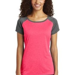 ® Ladies Heather On Heather Contender ™ Scoop Neck Tee Thumbnail